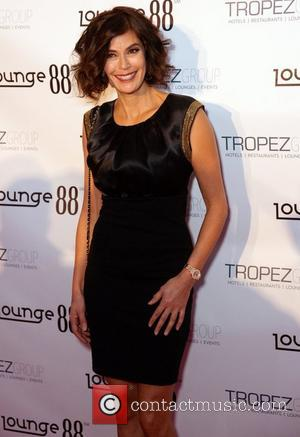 Teri Hatcher Lounge 88 Formula 1 United States Grand Prix Celebration Austin, Texas - 18.11.12