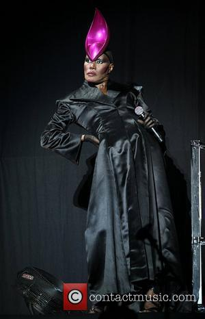 Grace Jones and Lovebox