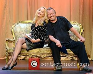 Jerry Hall and David Soul