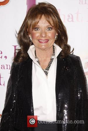 Dawn Wells from the classic TV show 'Gilligan's Island' Celebrating the new cast of the Off-Broadway play 'Love, Loss, And...