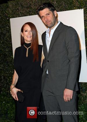 Julianne Moore and Bart Freundlich