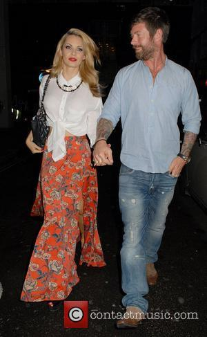 Jessica-Jane Clement and Lee Stafford ,  LoveLite launch party at the Sanctum Soho Hotel London, England - 03.07.12
