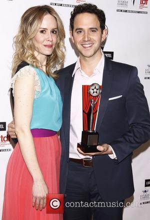 Sarah Paulson and Santino Fontana The 2012 Lucille Lortel Awards held at NYU Skirball Center - Press Room New York...