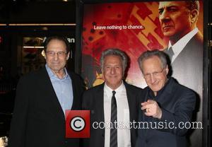 David Milch, Dustin Hoffman and Michael Mann HBO's 'Luck' Los Angeles premiere held at Graumans Chinese Theatre Hollywood, California -...