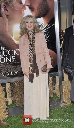 Blythe Danner Ellie,  at the premiere of 'The Lucky One' held at Grauman's Chinese Theatre Hollywood, California - 16.04.12