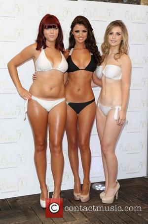 Lucy Mecklenburgh launches her Bella Bamba swimwear London, England - 11.07.12