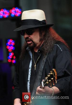 Gary Rossington of Lynyrd Skynyrd performs live outside Fox News studio as part of the Fox and Friends All-American concert...