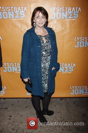 Rachel Dratch  Broadway opening night of 'Lysistrata Jones' at the Walter Kerr Theatre - Arrivals.  New York City,...