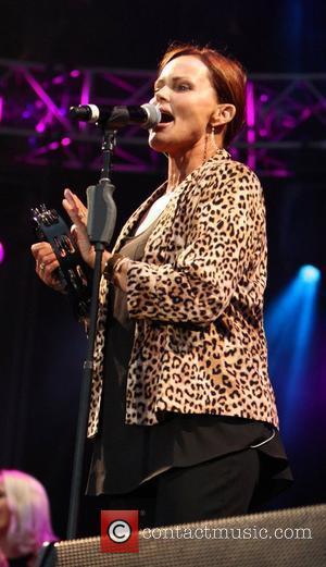 Belinda Carlisle Lytham Proms Festival Weekend 2012 in Lytham St Annes Lytham St Annes, England - 03.08.12