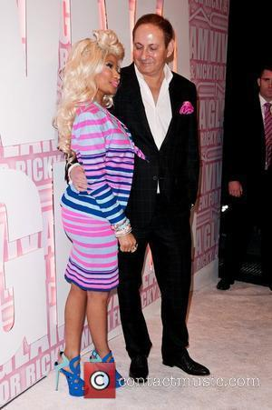 Nicki Minaj, John Demsey and Viva Glam Party