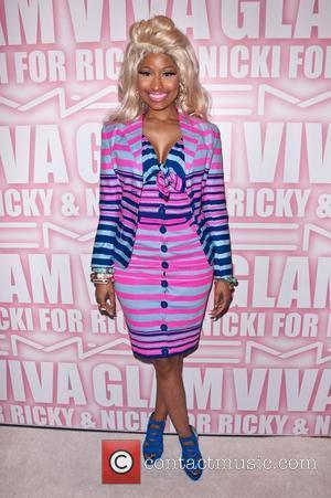 Nicki Minaj and Viva Glam Party