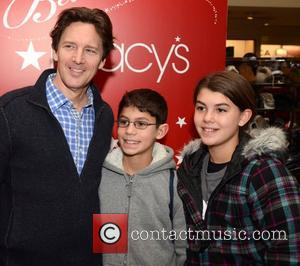 Andrew McCarthy and his children Macy's Philadelphia hosts The Annual Holiday Window Unveiling at Macy's Center City Philadelphia, Pennsylvania -...