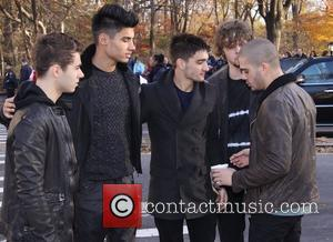 Nathan Sykes, Siva Kaneswaran, Tom Parker, Jay Mcguiness, Max George, The Wanted, Annual Macy's Thanksgiving Day and Parade New York City