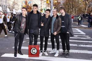 Nathan Sykes, Siva Kaneswaran, Tom Parker, Max George, Jay Mcguiness, The Wanted, Annual Macy's Thanksgiving Day and Parade New York City