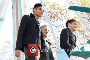 Siva Kaneswaran, Max George, Tom Parker, The Wanted, Annual Macy's Thanksgiving Day and Parade New York City