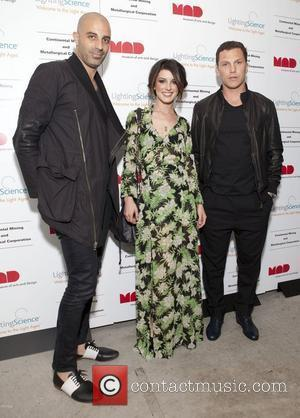 Shenae Grimes and Sean Avery