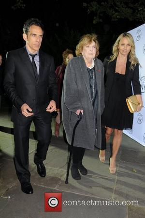 Ben Stiller, Anne Meara and Christine Taylor