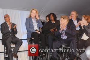 Jon Kamen, Anne Meara, Jerry Stiller, Kelly Ripa, Meryl Streep, Robert De Niro and Whoopi Goldberg