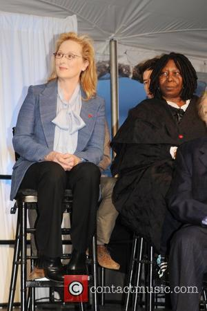Meryl Streep and Whoopi Goldberg