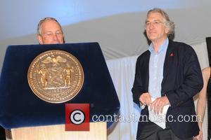 Mayor Michael Bloomberg and Robert De Niro