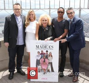 Tom Arnold, Doris Roberts, Eugene Levy and Romeo Miller