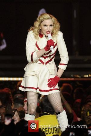 Madonna  performing at Air Canada Centre during her MDNA Tour.  Toronto, Canada - 12.09.12