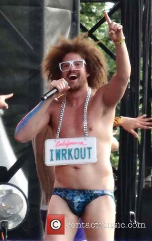 LMFAO perform as the opening act for Madonna during her 'MDNA' tour in Hyde Park London, England - 17.07.12