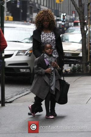 Mercy Banda Madonna and her family are seen arriving at the Kabbalah Center on the day before the Grammys New...