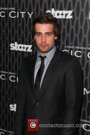 Christian Cooke  Starz Channel's 'Magic City' Premiere Event at the Academy Theatre - Arrivals New York City, USA -...
