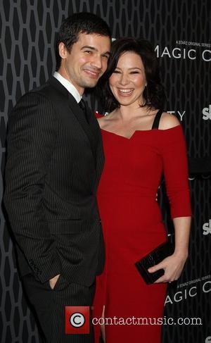 Steven Strait and Lynn Collins