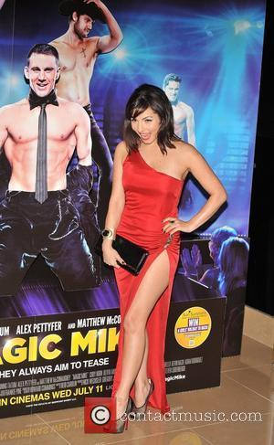 Roxanne Pallett UK film premiere of 'Magic Mike' held at the Mayfair Hotel - Arrivals London, England - 10.07.12