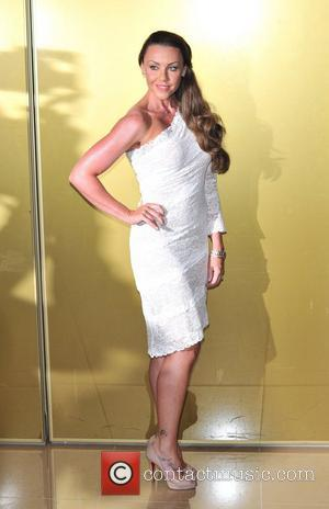 Michelle Heaton Magic Mike UK film premiere held at the Mayfair Hotel.  London, England - 10.07.12