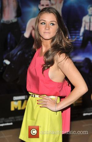 Brooke Vincent Magic Mike UK film premiere held at the Mayfair Hotel. London, England - 10.07.12