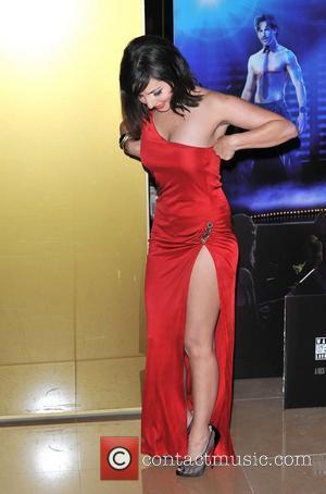 Roxanne Pallett Magic Mike UK film premiere held at the Mayfair Hotel. London, England - 10.07.12