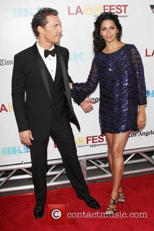 Matthew Mcconaughey, Camila Alves and Los Angeles Film Festival