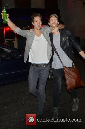 Andy Brown, Ryan Fletcher and Lawson