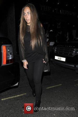 Chloe Green leaves Mahiki club London, England - 23.03.12