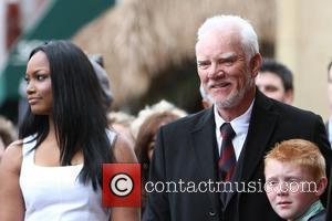 Garcelle Beauvais-nilon, Malcolm Mcdowell and Walk Of Fame