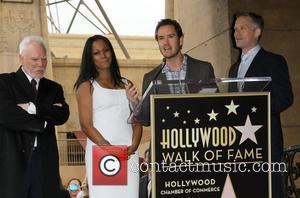 Malcolm Mcdowell, Garcelle Beauvais-nilon, Mark-paul Gosselaar, Reed Diamond and Walk Of Fame
