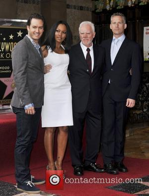Reed Diamond, Garcelle Beauvais-nilon, Malcolm Mcdowell and Walk Of Fame