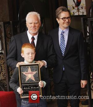 Malcolm McDowell, Gary Oldman and Walk Of Fame