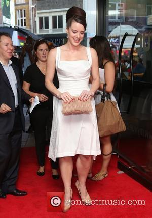 Michelle Ryan UK premiere of The Man Inside - Arrivals London, England - 24.07.12