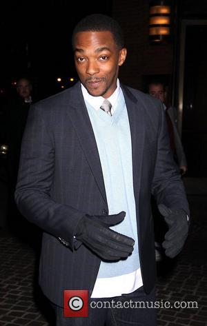 Anthony Mackie The New York Premiere of 'Man on a Ledge' - Outside Arrivals  New York City, USA -...