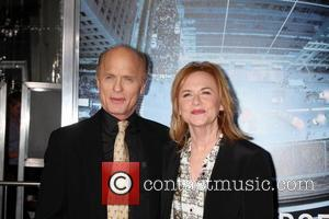 Ed Harris, Amy Madigan and Grauman's Chinese Theatre