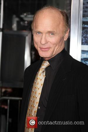Ed Harris and Grauman's Chinese Theatre