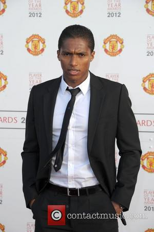 Antonio Valencia  Manchester United Player Of The Season Awards held at Old Trafford - Arrivals Manchester, England - 14.05.12