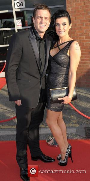 Kym Marsh and Jamie Lomas  Manchester United Player Of The Season Awards held at Old Trafford - Arrivals Manchester,...