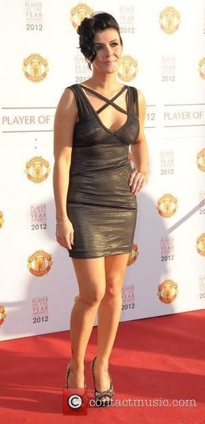 Kym Marsh  Manchester United Player Of The Season Awards held at Old Trafford - Arrivals Manchester, England - 14.05.12