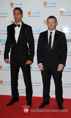 Rio Ferdinand and Wayne Rooney