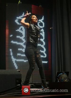 Tulisa Contostavlos and Manchester Arena